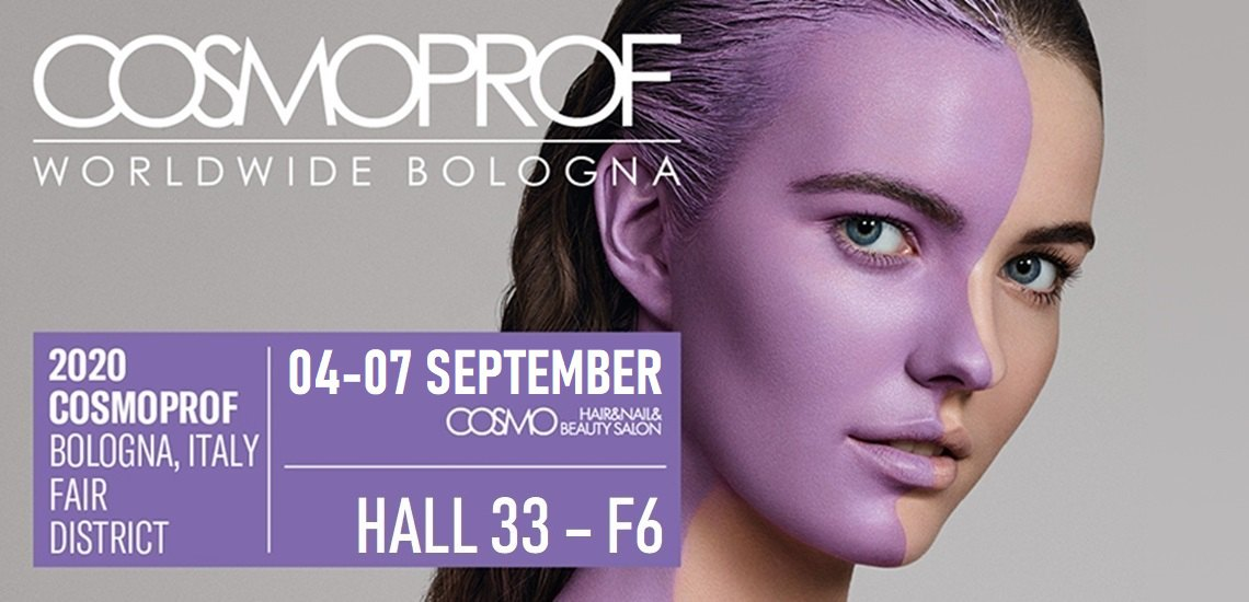 Messe: COSMOPROF Bologna 2019 | Stand: Halle 33 / F6-G5